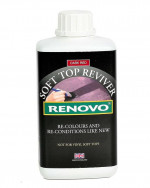 RENOVO SOFT TOP HOOD REVIVER barva na střechy TMAVĚ ČERVENÁ