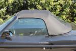 Potah střechy střecha Fiat Barchetta materiál PVC Vinyl černá, VYMĚNITELNÉ OKNO NA ZIP