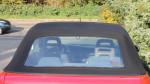 Fiat Punto cabrio zadní plastové okno na zip čiré