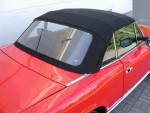 Potah střechy střecha Fiat Spider 124 78-85 materiál textilní sonnenland černá