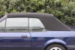 Potah střechy střecha Ford Escort Cabrio 1 MK3 materiál textilní sonnenland černá