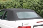 Potah střechy střecha Ford Escort Cabrio 2 MK4 materiál textilní sonnenland černá