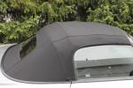 Potah střechy střecha Honda S2000 materiál textilní sonnenland černá, skleněné okno 2002-2009