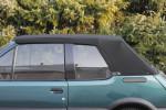 Potah střechy střecha Peugeot 205 materiál textilní sonnenland černá