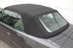Potah střechy střecha Peugeot 306 cabrio materiál textilní sonnenland černá, MĚNITELNÉ OKNO NA ZIP