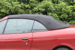 Potah střechy střecha Renault Megane Classic cabrio materiál textilní sonnenland černá