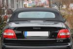 Potah střechy střecha Volvo C70 cabrio materiál textilní sonnenland černá