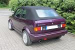 Potah střechy střecha Volkswagen Golf I cabrio materiál textilní sonnenland černá